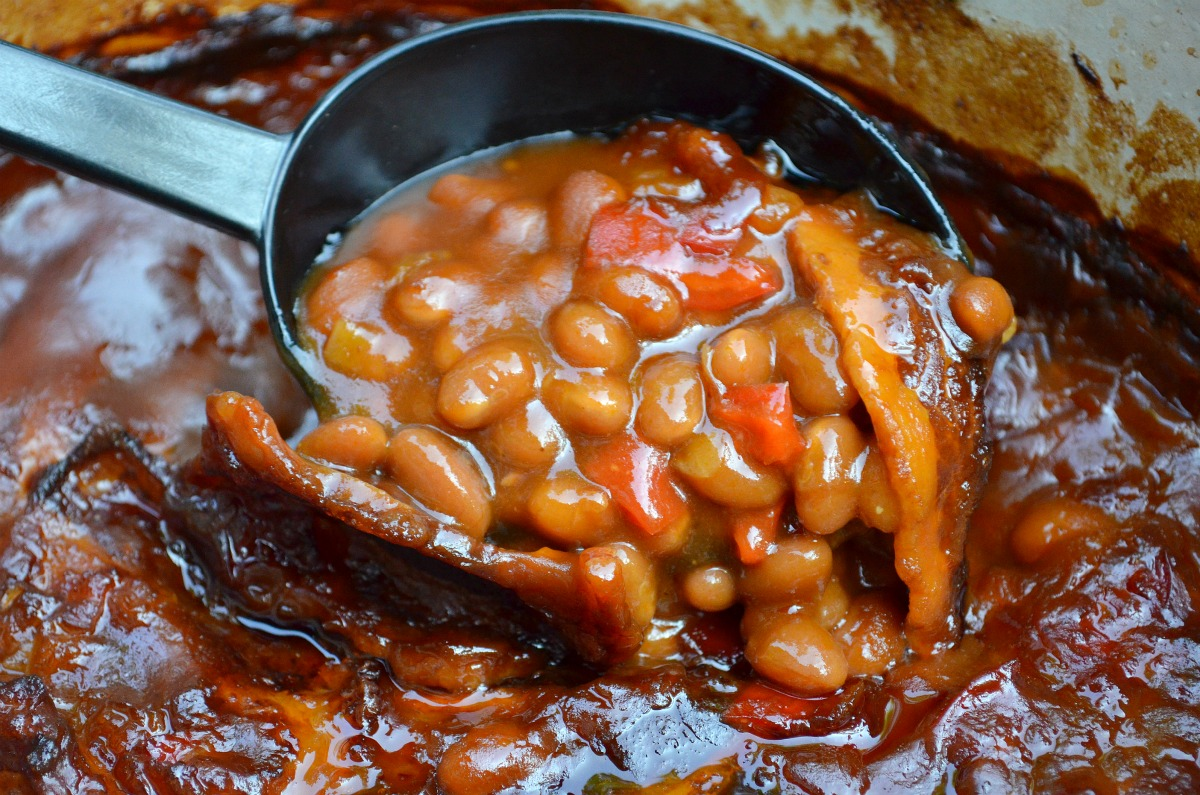 baked beans maple baked beans baked beans in the crock pot three bean ...