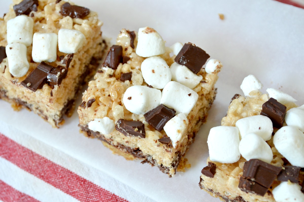 S'more Crispie Rice Treats
