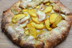 Simple Peach Galette