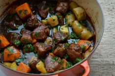 Pork Stew with Balsamic and Beer